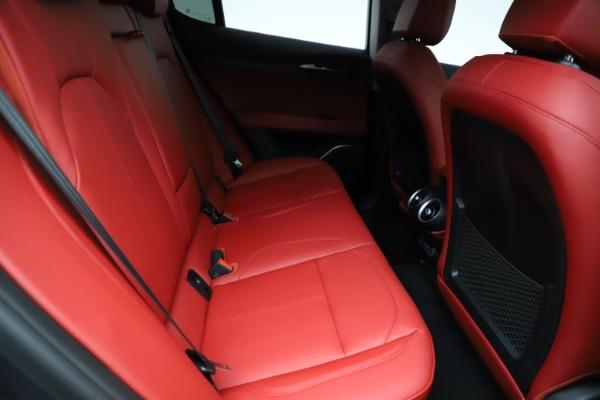 New 2021 Alfa Romeo Stelvio Ti Q4 for sale $55,500 at Alfa Romeo of Westport in Westport CT 06880 25