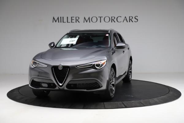 New 2021 Alfa Romeo Stelvio Ti Q4 for sale $55,500 at Alfa Romeo of Westport in Westport CT 06880 1