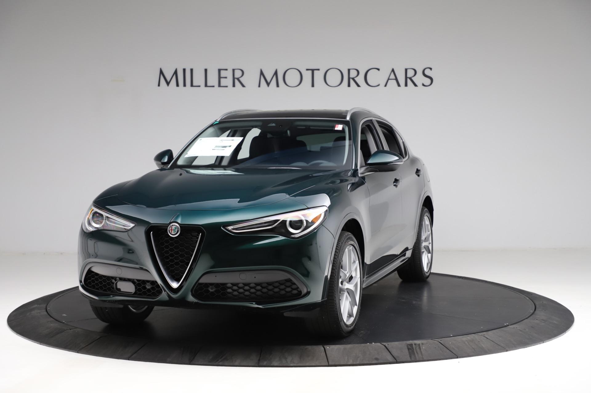 New 2021 Alfa Romeo Stelvio Ti Q4 for sale $53,500 at Alfa Romeo of Westport in Westport CT 06880 1