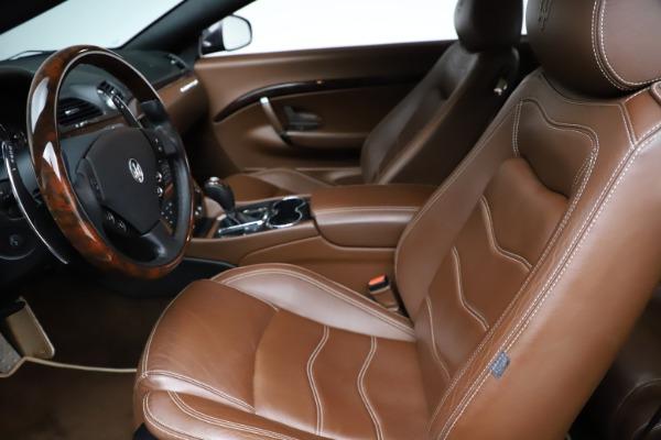 Used 2013 Maserati GranTurismo Sport for sale $67,900 at Alfa Romeo of Westport in Westport CT 06880 15