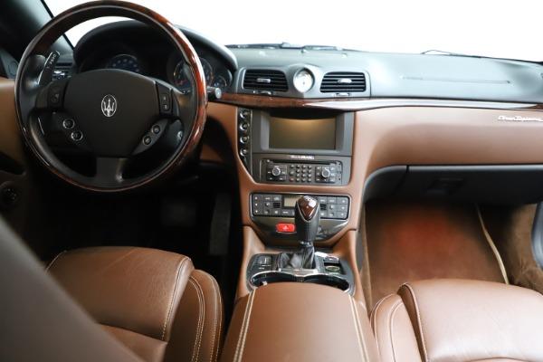 Used 2013 Maserati GranTurismo Sport for sale $67,900 at Alfa Romeo of Westport in Westport CT 06880 21
