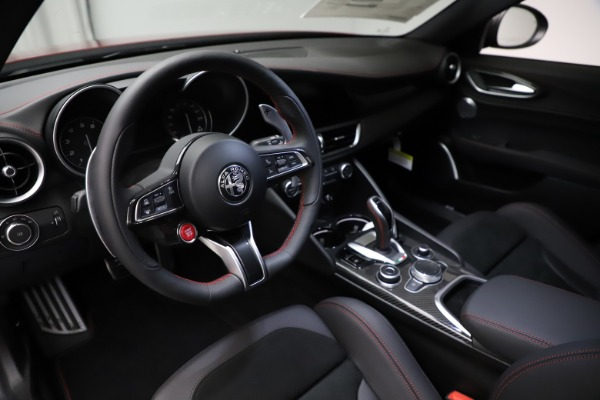 New 2021 Alfa Romeo Giulia Quadrifoglio for sale $83,740 at Alfa Romeo of Westport in Westport CT 06880 12