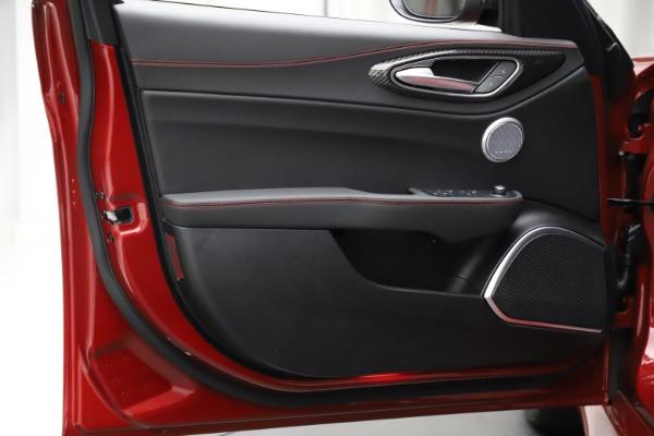 New 2021 Alfa Romeo Giulia Quadrifoglio for sale $83,740 at Alfa Romeo of Westport in Westport CT 06880 16