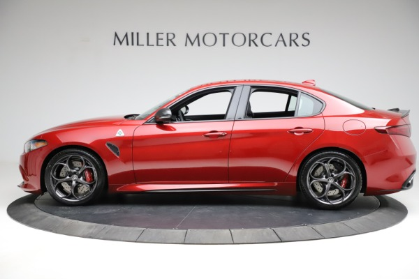 New 2021 Alfa Romeo Giulia Quadrifoglio for sale $83,740 at Alfa Romeo of Westport in Westport CT 06880 2