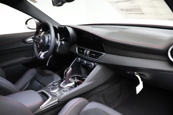 New 2021 Alfa Romeo Giulia Quadrifoglio for sale $83,740 at Alfa Romeo of Westport in Westport CT 06880 22