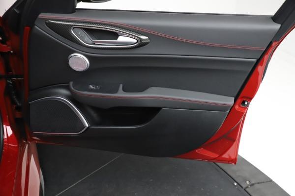 New 2021 Alfa Romeo Giulia Quadrifoglio for sale $83,740 at Alfa Romeo of Westport in Westport CT 06880 24