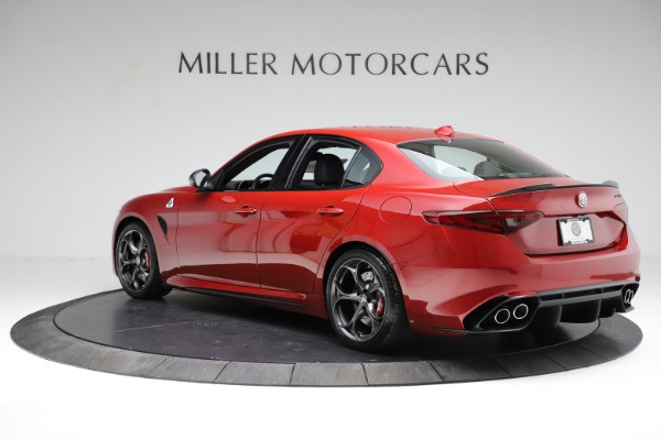 New 2021 Alfa Romeo Giulia Quadrifoglio for sale $83,740 at Alfa Romeo of Westport in Westport CT 06880 3