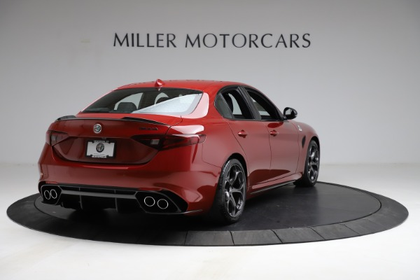New 2021 Alfa Romeo Giulia Quadrifoglio for sale $83,740 at Alfa Romeo of Westport in Westport CT 06880 5