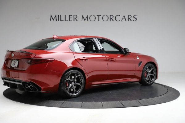 New 2021 Alfa Romeo Giulia Quadrifoglio for sale $83,740 at Alfa Romeo of Westport in Westport CT 06880 6