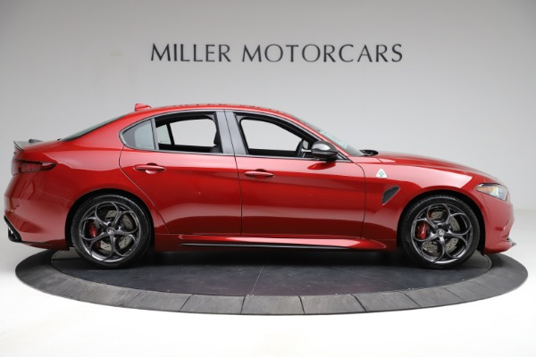 New 2021 Alfa Romeo Giulia Quadrifoglio for sale $83,740 at Alfa Romeo of Westport in Westport CT 06880 7