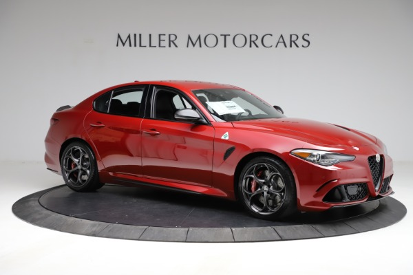 New 2021 Alfa Romeo Giulia Quadrifoglio for sale $83,740 at Alfa Romeo of Westport in Westport CT 06880 8