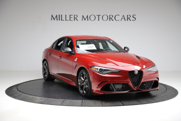 New 2021 Alfa Romeo Giulia Quadrifoglio for sale $83,740 at Alfa Romeo of Westport in Westport CT 06880 9