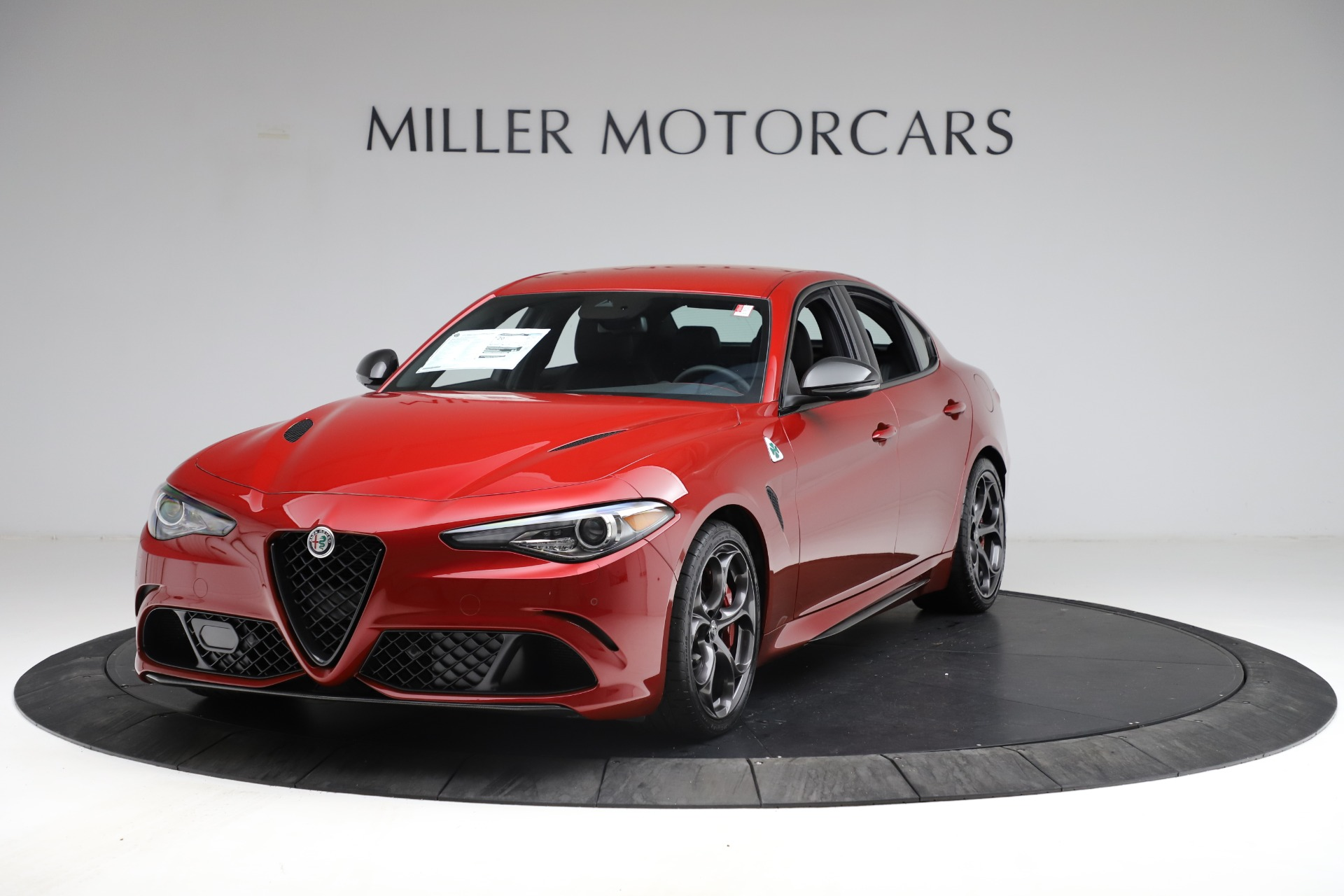 New 2021 Alfa Romeo Giulia Quadrifoglio for sale $83,740 at Alfa Romeo of Westport in Westport CT 06880 1