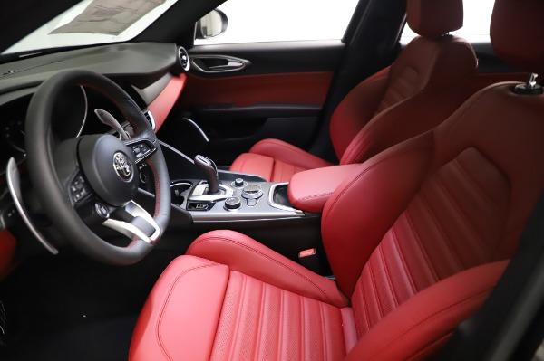 New 2021 Alfa Romeo Giulia Ti Sport for sale $54,050 at Alfa Romeo of Westport in Westport CT 06880 13
