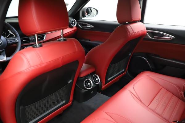 New 2021 Alfa Romeo Giulia Ti Sport for sale $54,050 at Alfa Romeo of Westport in Westport CT 06880 17