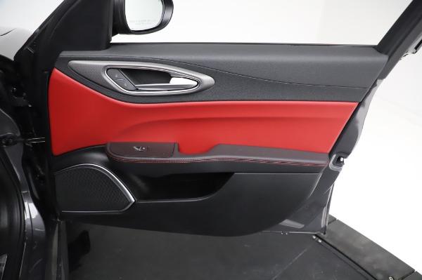 New 2021 Alfa Romeo Giulia Ti Sport for sale $54,050 at Alfa Romeo of Westport in Westport CT 06880 23