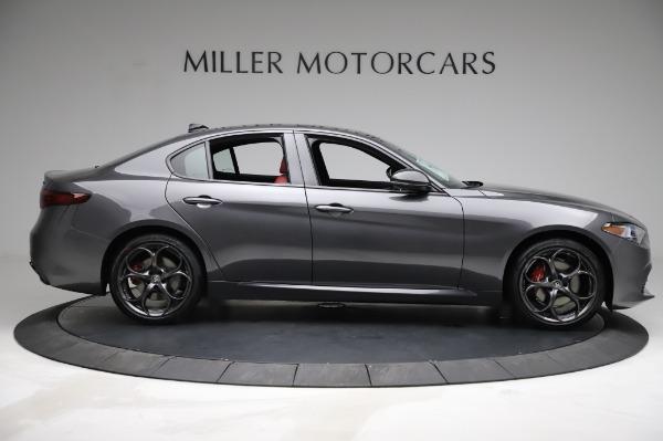 New 2021 Alfa Romeo Giulia Ti Sport for sale $54,050 at Alfa Romeo of Westport in Westport CT 06880 8