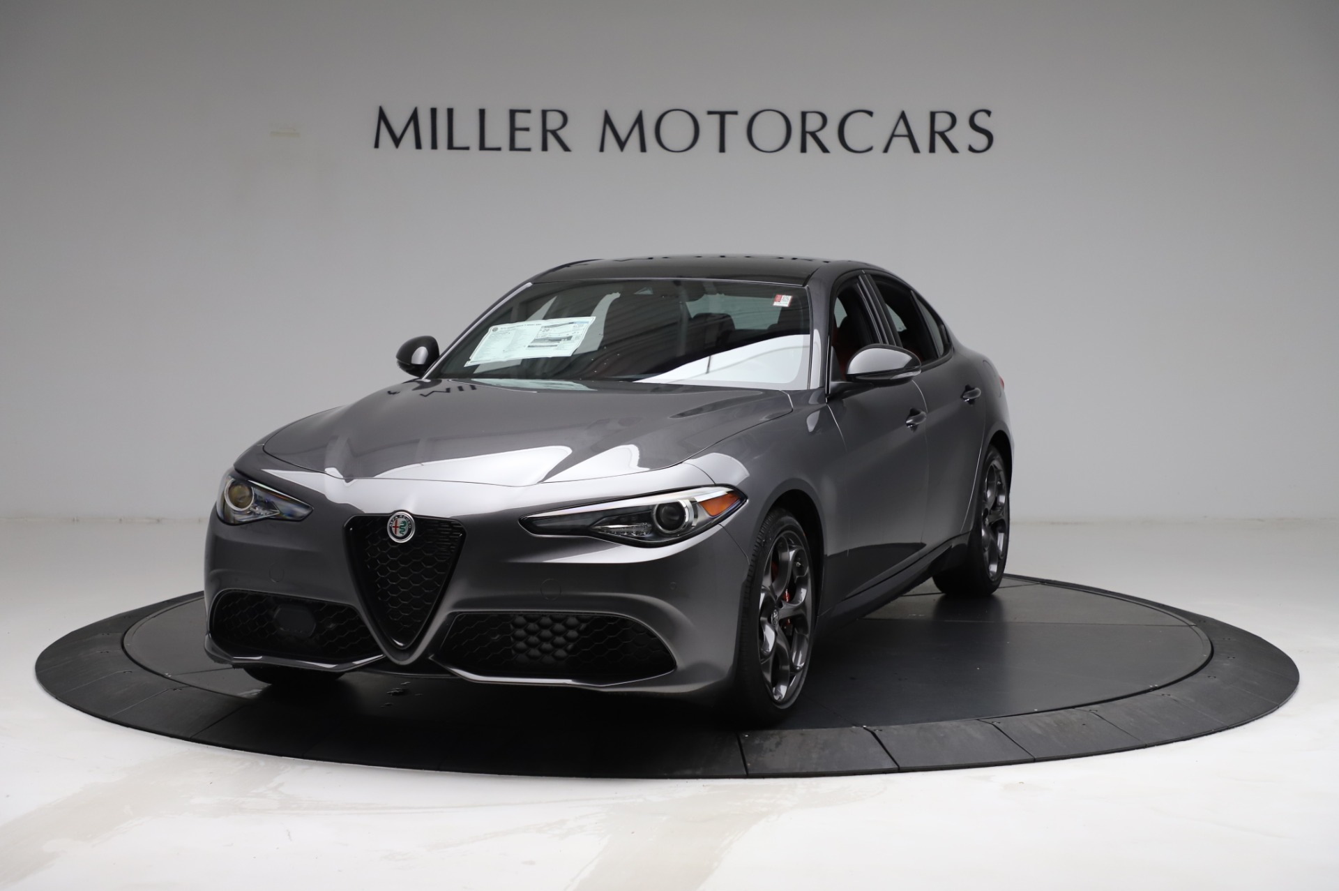 New 2021 Alfa Romeo Giulia for sale $54,050 at Alfa Romeo of Westport in Westport CT 06880 1