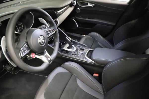 New 2021 Alfa Romeo Giulia Quadrifoglio for sale $83,200 at Alfa Romeo of Westport in Westport CT 06880 12