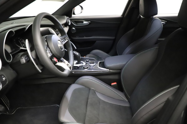 New 2021 Alfa Romeo Giulia Quadrifoglio for sale $83,200 at Alfa Romeo of Westport in Westport CT 06880 13