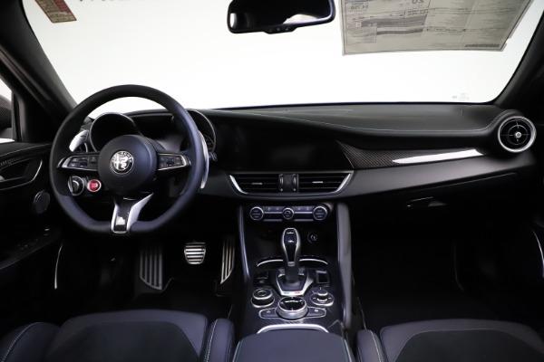 New 2021 Alfa Romeo Giulia Quadrifoglio for sale $83,200 at Alfa Romeo of Westport in Westport CT 06880 15
