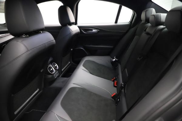 New 2021 Alfa Romeo Giulia Quadrifoglio for sale $83,200 at Alfa Romeo of Westport in Westport CT 06880 18