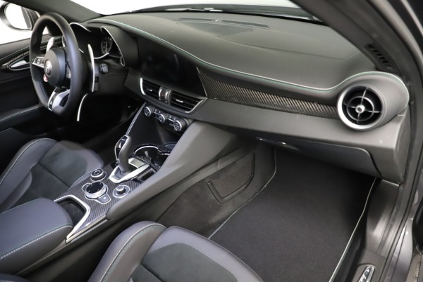 New 2021 Alfa Romeo Giulia Quadrifoglio for sale $83,200 at Alfa Romeo of Westport in Westport CT 06880 20