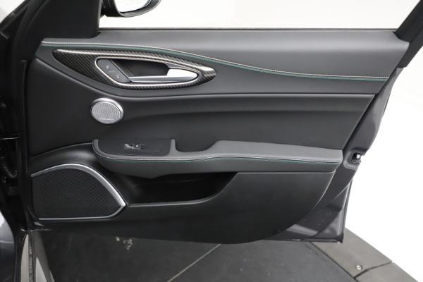 New 2021 Alfa Romeo Giulia Quadrifoglio for sale $83,200 at Alfa Romeo of Westport in Westport CT 06880 22