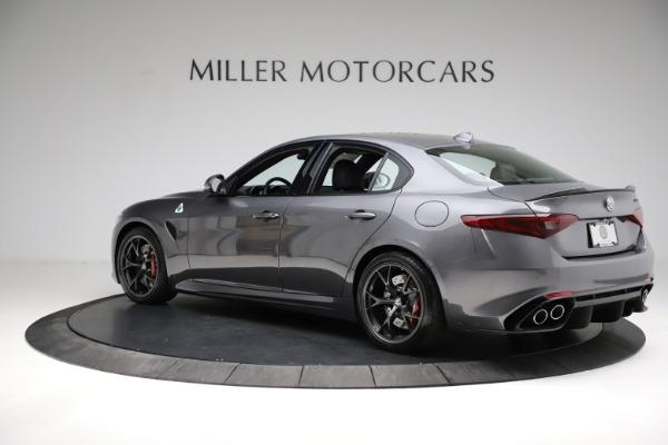New 2021 Alfa Romeo Giulia Quadrifoglio for sale $83,200 at Alfa Romeo of Westport in Westport CT 06880 4