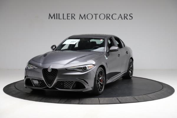 New 2021 Alfa Romeo Giulia Quadrifoglio for sale $83,200 at Alfa Romeo of Westport in Westport CT 06880 1