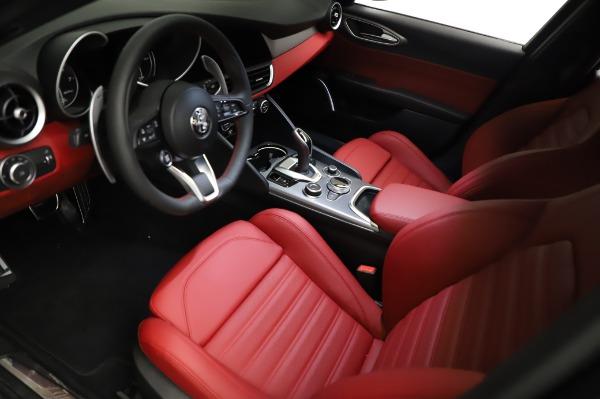 New 2021 Alfa Romeo Giulia Ti Sport for sale $54,050 at Alfa Romeo of Westport in Westport CT 06880 12