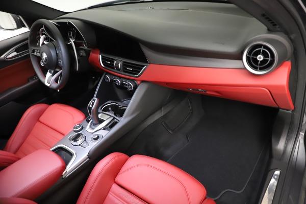 New 2021 Alfa Romeo Giulia Ti Sport for sale $54,050 at Alfa Romeo of Westport in Westport CT 06880 21