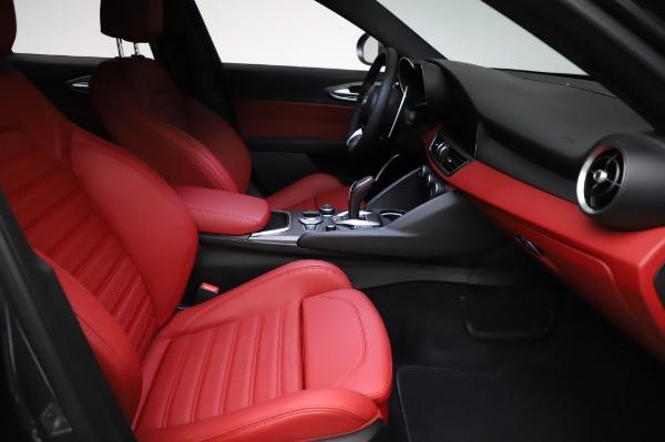 New 2021 Alfa Romeo Giulia Ti Sport for sale $54,050 at Alfa Romeo of Westport in Westport CT 06880 22