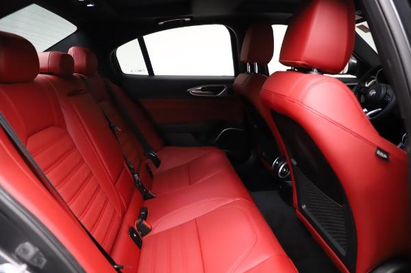 New 2021 Alfa Romeo Giulia Ti Sport for sale $54,050 at Alfa Romeo of Westport in Westport CT 06880 24