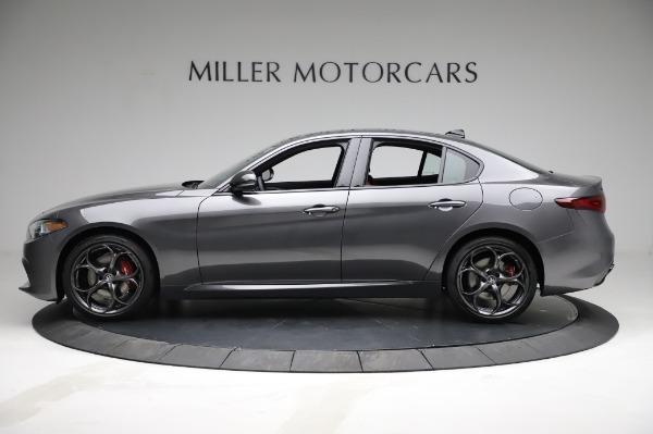 New 2021 Alfa Romeo Giulia Ti Sport for sale $54,050 at Alfa Romeo of Westport in Westport CT 06880 3