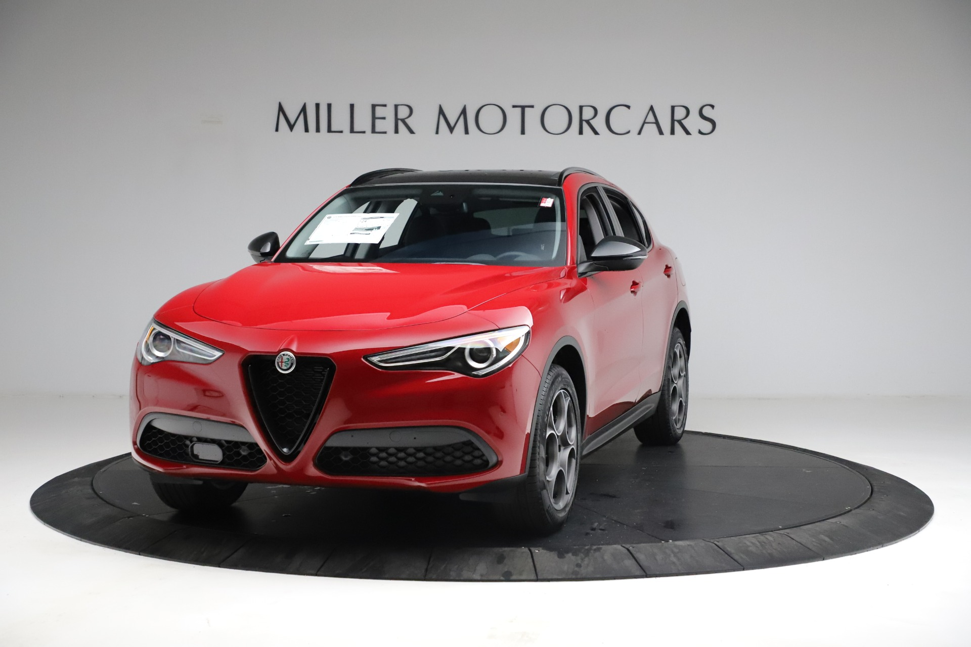 New 2021 Alfa Romeo Stelvio Sprint for sale $50,535 at Alfa Romeo of Westport in Westport CT 06880 1