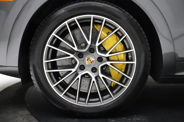 Used 2020 Porsche Cayenne Turbo for sale $145,900 at Alfa Romeo of Westport in Westport CT 06880 16