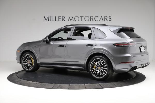 Used 2020 Porsche Cayenne Turbo for sale $145,900 at Alfa Romeo of Westport in Westport CT 06880 4
