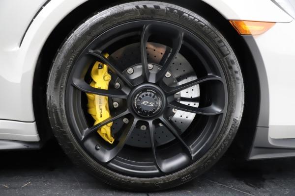 Used 2019 Porsche 911 GT3 RS for sale $249,900 at Alfa Romeo of Westport in Westport CT 06880 22