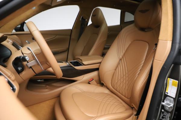 New 2021 Aston Martin DBX for sale $211,486 at Alfa Romeo of Westport in Westport CT 06880 15