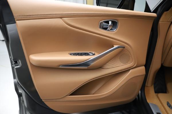 New 2021 Aston Martin DBX for sale $211,486 at Alfa Romeo of Westport in Westport CT 06880 16