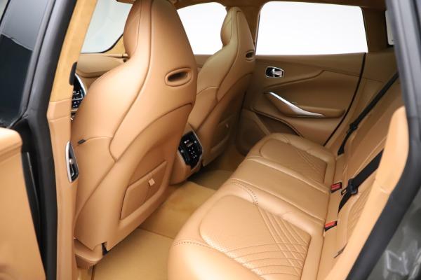 New 2021 Aston Martin DBX for sale $211,486 at Alfa Romeo of Westport in Westport CT 06880 19