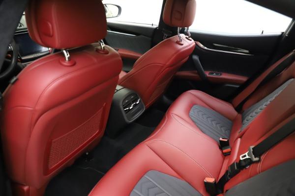 Used 2018 Maserati Ghibli SQ4 GranLusso for sale $55,900 at Alfa Romeo of Westport in Westport CT 06880 13