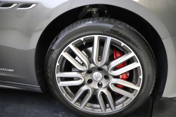 Used 2018 Maserati Ghibli SQ4 GranLusso for sale $55,900 at Alfa Romeo of Westport in Westport CT 06880 22