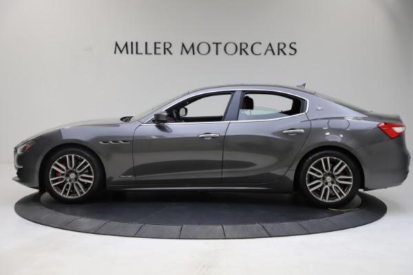 Used 2018 Maserati Ghibli SQ4 GranLusso for sale $55,900 at Alfa Romeo of Westport in Westport CT 06880 3
