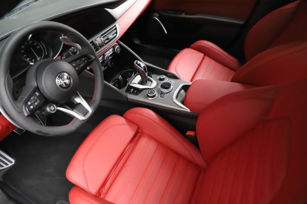 New 2021 Alfa Romeo Giulia Ti Sport for sale $54,050 at Alfa Romeo of Westport in Westport CT 06880 15