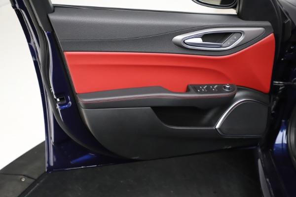 New 2021 Alfa Romeo Giulia Ti Sport for sale $54,050 at Alfa Romeo of Westport in Westport CT 06880 18