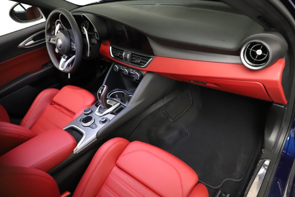 New 2021 Alfa Romeo Giulia Ti Sport for sale $54,050 at Alfa Romeo of Westport in Westport CT 06880 19