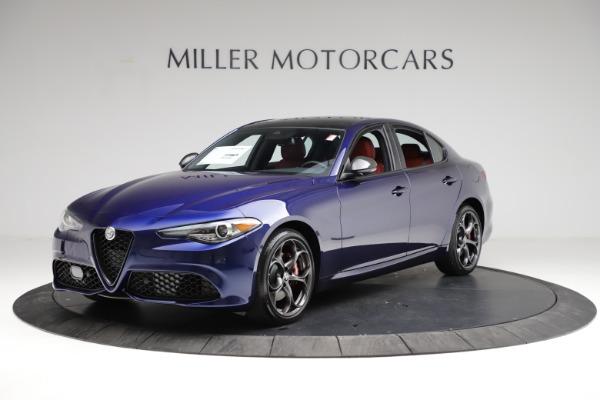 New 2021 Alfa Romeo Giulia Ti Sport for sale $54,050 at Alfa Romeo of Westport in Westport CT 06880 2