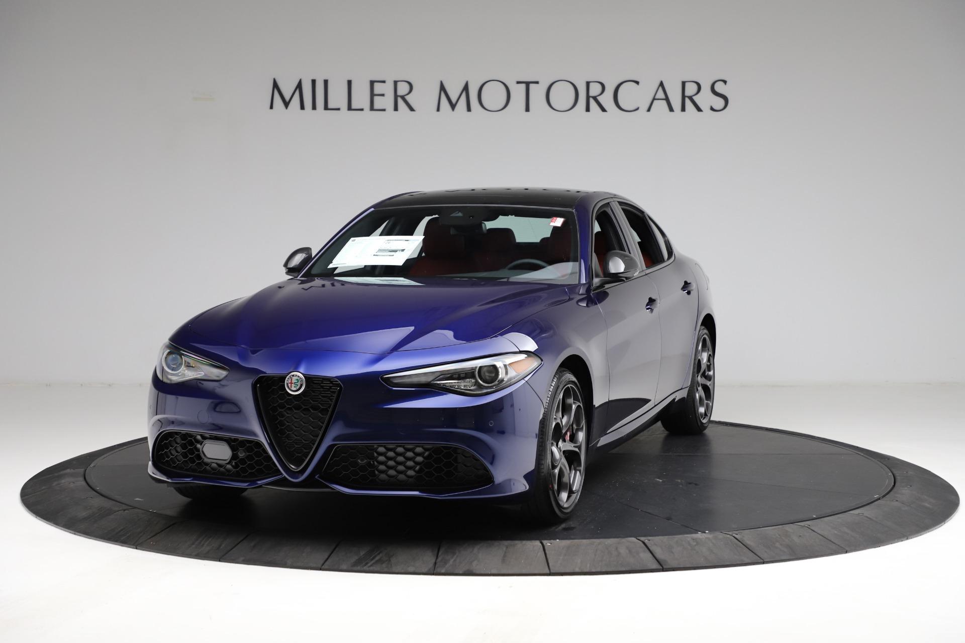 New 2021 Alfa Romeo Giulia Ti Sport for sale $54,050 at Alfa Romeo of Westport in Westport CT 06880 1